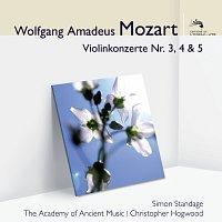 Simon Standage, The Academy of Ancient Music, Christopher Hogwood – Mozart Violinkonzerte 3, 4 & 5 [Audior]
