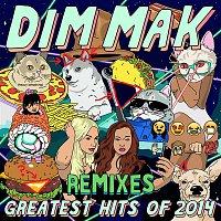 Přední strana obalu CD Dim Mak Greatest Hits 2014: Remixes