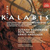 Kalabis: Koncert pro cembalo a smyčcové nástroje, Koncert pro housle a orchestr, Písně na Rilkeho texty, Symfonické variace