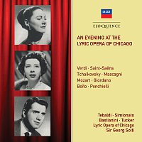 Sir Georg Solti, Renata Tebaldi, Ettore Bastianini, Giulietta Simionato – An Evening At The Lyric Opera Of Chicago