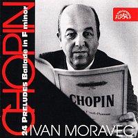 Přední strana obalu CD Chopin: 24 preludií, Balada f moll