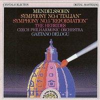 Česká filharmonie/Gaetano Delogu – Mendelssohn: Symfonie č. 4, 5, Hebridy
