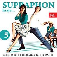 Přední strana obalu CD Supraphon hraje ...Láska chodí po špičkách a další z 80. let (5)