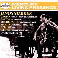 János Starker, Gyorgy Sebok – Bartók / Chopin / Debussy / Mendelssohn: Cello Sonatas &c