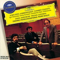 Ensemble Intercontemporain, Pierre Boulez – Berg: Chamber Concerto / Stravinsky: Ebony Concerto; Dumbarton Oaks; 8 Miniatures
