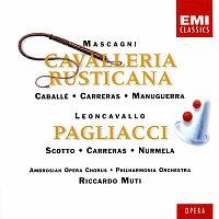Riccardo Muti, Montserrat Caballé, Sir Thomas Allen, Renata Scotto, Philharmonia Orchestra – Mascagni: Cavalleria Rusticana/Leoncavallo: I Pagliacci