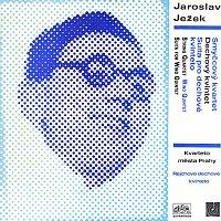 Přední strana obalu CD Ježek: Smyčcový kvartet, Dechový kvintet, Suita