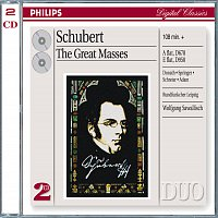 Helen Donath, Ingeborg Springer, Peter Schreier, Theo Adam, Rundfunkchor Leipzig – Schubert: The Great Masses [2 CDs]