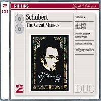 Helen Donath, Ingeborg Springer, Peter Schreier, Theo Adam, Rundfunkchor Leipzig – Schubert: The Great Masses