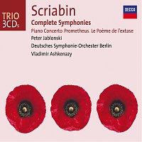 Přední strana obalu CD Scriabin: Complete Symphonies / Piano Concerto, etc.