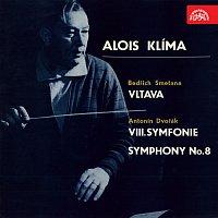 Přední strana obalu CD Umělecký portrét Aloise Klímy