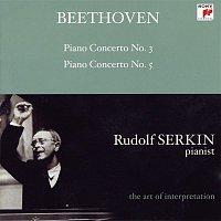 "Rudolf Serkin, New York Philharmonic, Leonard Bernstein – Beethoven: Piano Concertos Nos. 3 & 5 ""Emperor"" (Rudolf Serkin - The Art of Interpretation)"
