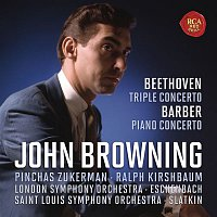 John Browning – Beethoven: Concerto for Piano, Violin, Cello and Orchestra, Op.56 & Barber: Concerto for Piano and Orchestra, Op. 38