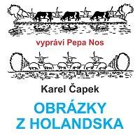 Přední strana obalu CD Čapek: Obrázky z Holandska
