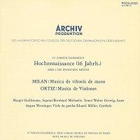 Margot Guilleaume, Walter Gwerwig, Bernhard Michaelis, August Wenzinger – Milan: Musica de vihuela de mano / Ortiz: Musica de Violones