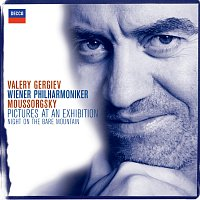 Přední strana obalu CD Mussorgsky: Pictures at an Exhibition etc