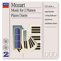 Přední strana obalu CD Mozart: Music for 2 Pianos; Piano Duets