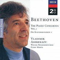 Vladimír Ashkenazy, Wiener Philharmoniker, Zubin Mehta – Beethoven: Piano Concertos, Vol.1 [2 CDs]