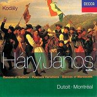 Orchestre Symphonique de Montréal, Charles Dutoit – Kodály: Háry János Suite/Dances of Marosszék/Peacock Variations/Galanta