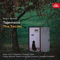 Přední strana obalu CD Smetana: Tajemství. Komická opera o 3 dějstvích