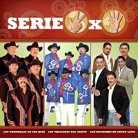 Přední strana obalu CD Serie 3X4 (Los Originales, Los Invasores, Los Traileros)