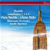 Sir Neville Marriner, Minnesota Orchestra – Dvorák: Symphonies Nos. 7, 8 & 9