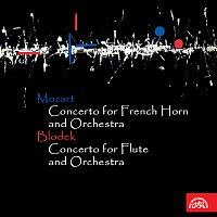 Různí interpreti – Mozart: Koncert pro lesní roh a orchestr - Blodek: Koncert pro flétnu a orchestr