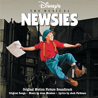 Přední strana obalu CD Newsies