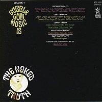 Přední strana obalu CD Bubblegum Music Is The Naked Truth Volume 1