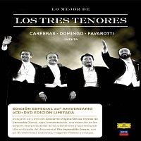 Přední strana obalu CD Lo Mejor de los Tres Tenores