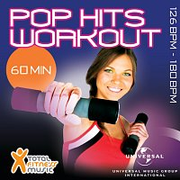 Přední strana obalu CD Pop Hits Workout 126 - 180bpm Ideal For Jogging, Gym Cycle, Cardio Machines, Fast Walking, Bodypump, Step, Gym Workout & General Fitness