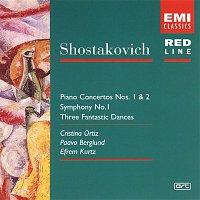 Paavo Berglund, Bournemouth Symphony Orchestra, Efrem Kurtz, Philharmonia Orchestra, Cristina Ortiz – Shostakovich: Piano Concerto No. 1 + 2/Symphony No. 1/3 Fantastic Dances