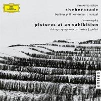 Lorin Maazel, Berliner Philharmoniker, Leon Spierer, Carlo Maria Giulini – Rimsky-Korsakov: Scheherazade, Op. 35  · Mussorgsky: Pictures at an Exhibition