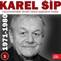 Přední strana obalu CD Nejvýznamnější textaři české populární hudby Karel Šíp 1 (1971 - 1980)