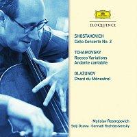 Mstislav Rostropovich – Shostakovich: Cello Concerto No. 2. Tchaikovsky: Rococo Variations; Andante cantabile. Glazunov: Chant du Ménestrel