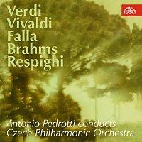 Přední strana obalu CD Antonio Pedrotti diriguje Českou filharmonii / Verdi, Vivaldi, Falla, Brahms, Respighi