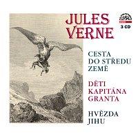Přední strana obalu CD Verne: Cesta do středu Země, Děti kapitána Granta, Hvězda jihu