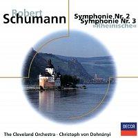 """The Cleveland Orchestra, Christoph von Dohnányi – Schumann: Sinfonien Nr.2, Op.61 & Nr.3, Op.97 """"Rheinische"""""""