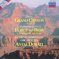 Přední strana obalu CD Grofé: Grand Canyon Suite/Gershwin: Porgy & Bess