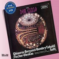 Renata Tebaldi, Grace Bumbry, Carlo Bergonzi, Dietrich Fischer-Dieskau – Verdi: Don Carlo [3 CDs]