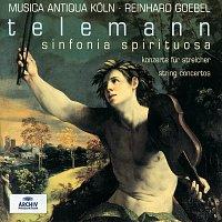Přední strana obalu CD Telemann: Sinfonia Spirituosa; String Concertos