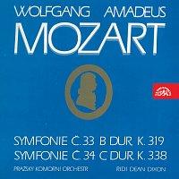 Pražský komorní orchestr, Dean Dixon – Symfonie č. 33 B dur K. 319, č. 34 C dur, K. 338