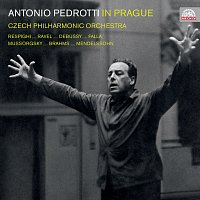 Česká filharmonie, Antonio Pedrotti – Antonio Pedrotti in Prague
