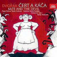 Přední strana obalu CD Dvořák: Čert a Káča. Opera o 3 dějstvích
