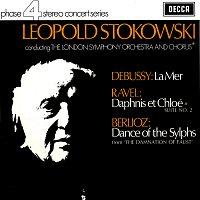 Leopold Stokowski, London Symphony Chorus, London Symphony Orchestra – Debussy: La Mer / Ravel: Daphnis et Chloe Suite No. 2 / Berlioz: Ballet des Sylphes
