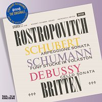 Mstislav Rostropovich, Benjamin Britten – Schubert/Schumann/Debussy: Works for Cello & Piano