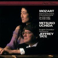 Mitsuko Uchida, English Chamber Orchestra, Jeffrey Tate – Mozart: Piano Concertos Nos. 22 & 23