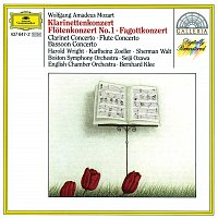 Karlheinz Zoeller, Harold Wright, Sherman Walt, English Chamber Orchestra – Mozart: Clarinet Concerto; Flute Concerto; Bassoon Concerto in B