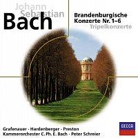 Kammerorchester Carl Philipp Emanuel Bach, Peter Schreier – Bach: Brandenburgische Konzerte [Eloquence]