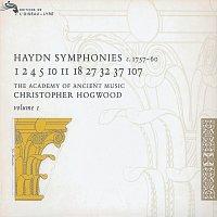 Přední strana obalu CD Haydn: Symphonies Vol.1
